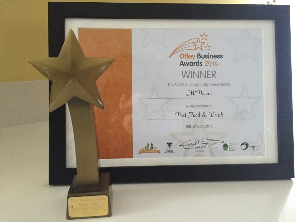 MDeena Otley Award